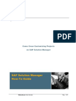 Como Crear Customizing Projects en SAP Solution Manager y Projects IMGs - MundoSAP
