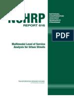 Multimodal Level of Service Analysis nchrp_rpt_616