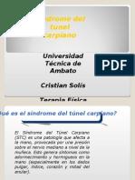 Sindrome Tunel Carpiano-Cristian Solis