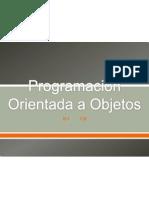 Programacion Orientada Objetos