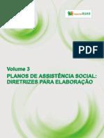 Caderno SUAS Volume 3 - Planos de Assistencia Social Diretrizes Para Elaboracao