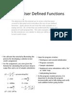 8 Matlab Functions