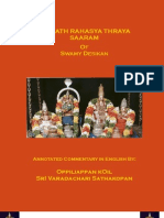 Srimad Rahasya Traya Saaram