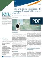 Hacia una nueva generación de estrategias de cooperación para el desarrollo. El caso de Educiudadanía en Ecuador
