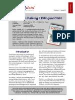 Seven Steps to Raising a Bilingual Child