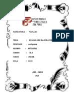 Resumen de Los Instrumentos de Medicion Del Laboratorio