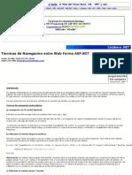 Técnicas de Navegacion entre Web Forms ASP