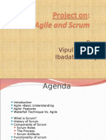 Agile and Scrum.