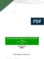Novedades Alfaguara Infantil y Juvenil Julio a Noviembre 2012