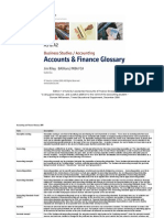 Accounting Finance Glossary v1 2005