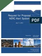 NERC Alerts Project RFP