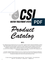 CSI Water Catalog 2013