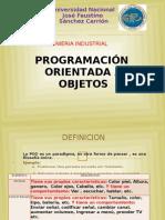 Programacion Orientada a Objetos.