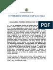 Bases Fútbol Copa del Mundo AIS 2012.