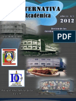 RevistaCátedras Libres - Julio 2012