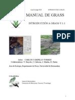 Manual de GRASS - Introducción a GRASS V.1.1 [Carlos Campillo Torres]