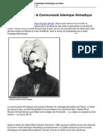 Introduction a La Communaute Islamique Ahmadiyya en Islam
