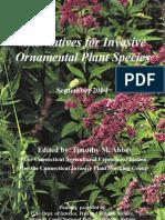 Native Alternatives for Invasive Ornamental Plant Species