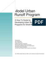 Model Urban Runoff Program