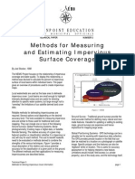 Methods for Measuring and Estimating Impervious Surface Coverage