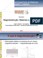 Magnetostriction