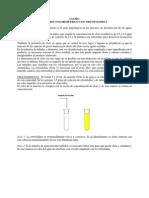 Determinación de cloro residual