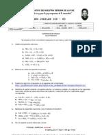 cuestionario tercer bimestres Química décimo