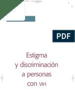 Textos del caracol. 5. Estigma y discriminación  a personas con VIH