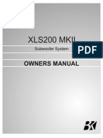 Xls200 Mk2 Manual