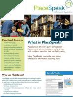 PlaceSpeak for Community Organizations
