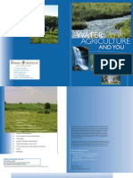 Water, Agriculture and You