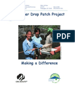 Water Drop Patch Project