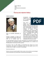 Teoricos de La Opinion Publica