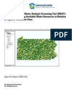 User's Guide to the Water-Analysis Screening Tool