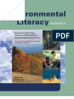 Understanding Environmental Literacy in America
