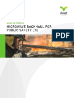 Microwave Backhaul for Public Safety LTE