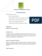 Documento Propuesta Ley OT [09.07.12][1]