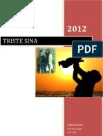 Triste Sina 2012