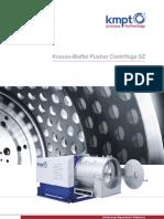 Krauss-Maffei Pusher Centrifuge SZ E