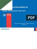 Plan Electromovilidad Chile