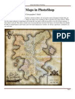 Antique Style Maps in PhotoShop