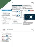 Cisco IPv6 Addressing At A Glance