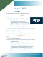 Procedimiento N°0001-Revision D -Numeracion de Proyectos y Planos