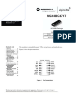 MC44BC374T Data Sheet