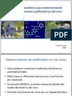 Métodos Analíticos para Determinación de Componentes Polifenólicos en Vinos