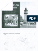 Quinnipiac University Five Year Master Plan