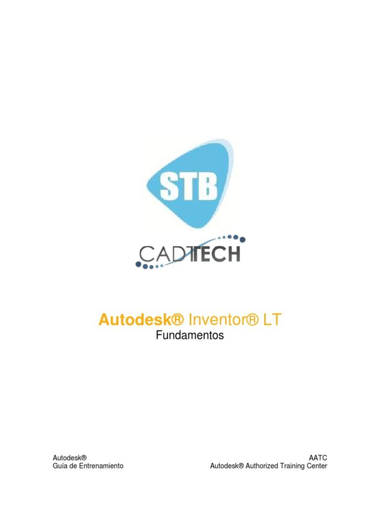Autodesk Inventor LT Temario y Guia de Competencias