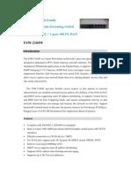 FSW-2104W Catalog - BK