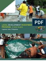 Local Development Investment Program ,CY 2012 to 2014