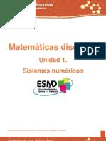 Unidad 1. Sistemas Numericos[1]